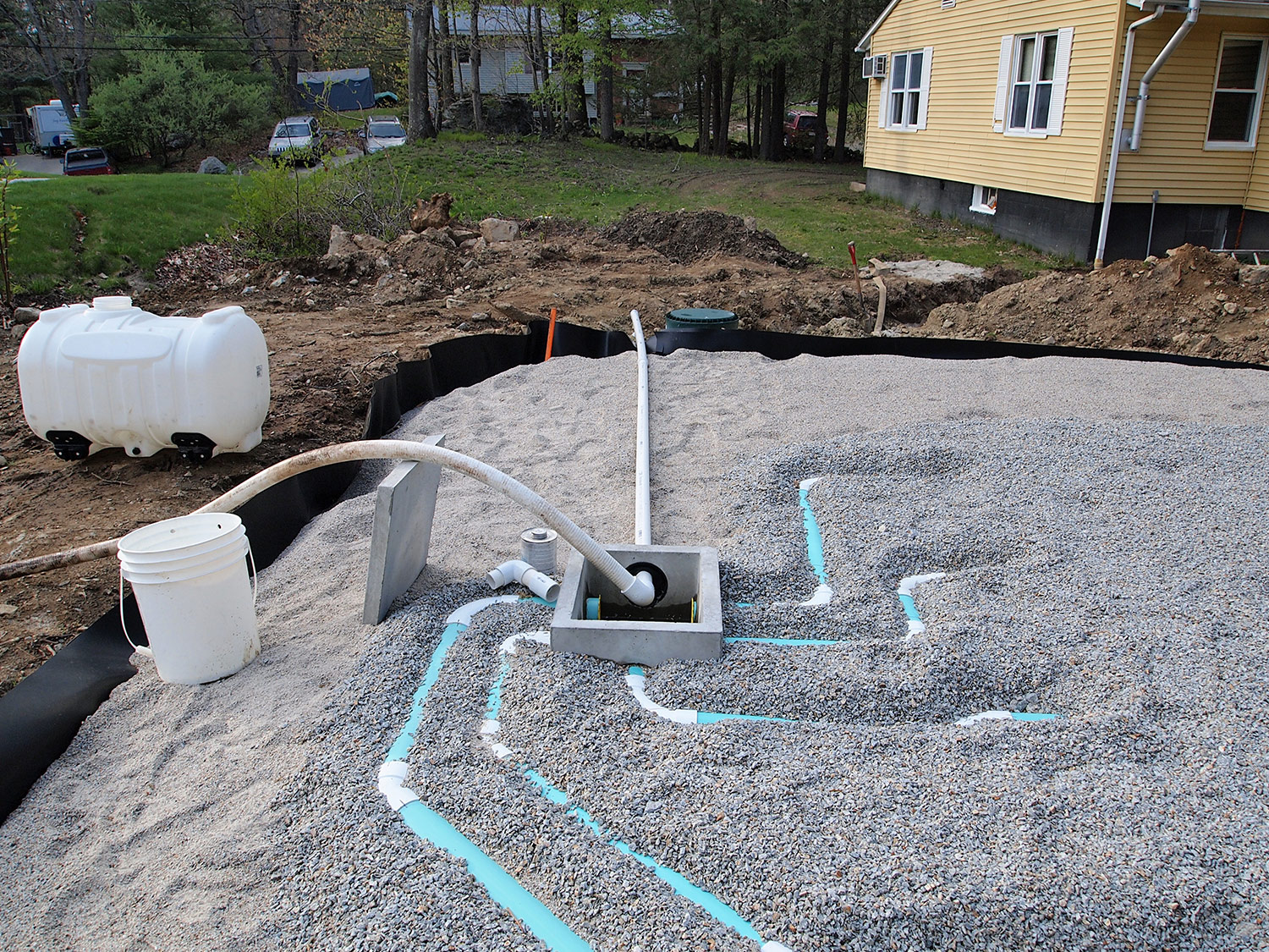 Morse Engineering and Construction Industries - Septic System Construction Fiskdale, MA