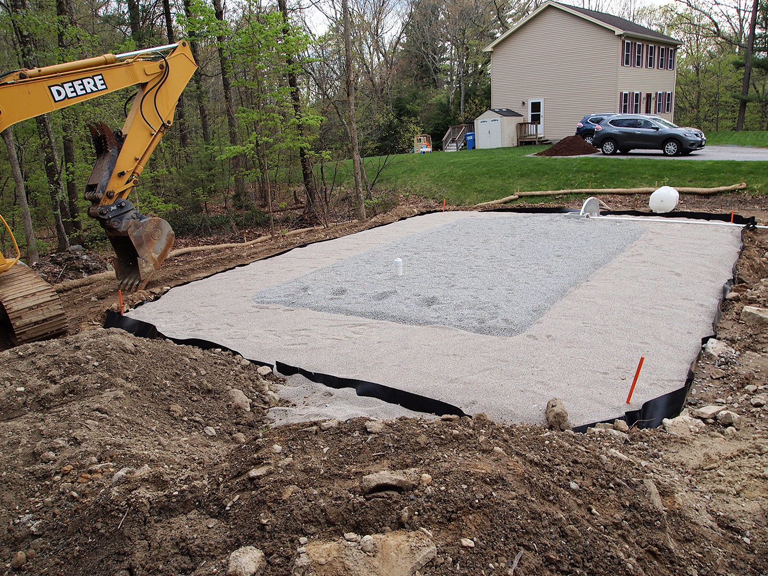 Septic System Construction - Fiskdale, MA